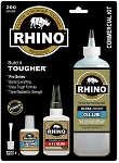 Rhino Glue Commercial Kit, Heavy Duty 200 Gram Clear