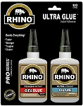 Rhino Glue Ultra Kit, Heavy Duty 80 Gram Clear
