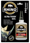 Rhino Glue Gel, Heavy Duty 40 Gram Clear