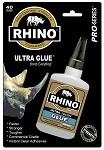 Rhino Glue 40 Gram Clear 4-Pack